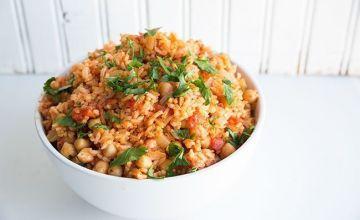 Rīsi ar malto gaļu