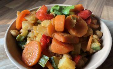 Dārzeņu sautējums (vegānisks)