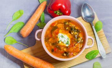 Bulgura-pupiņu zupa